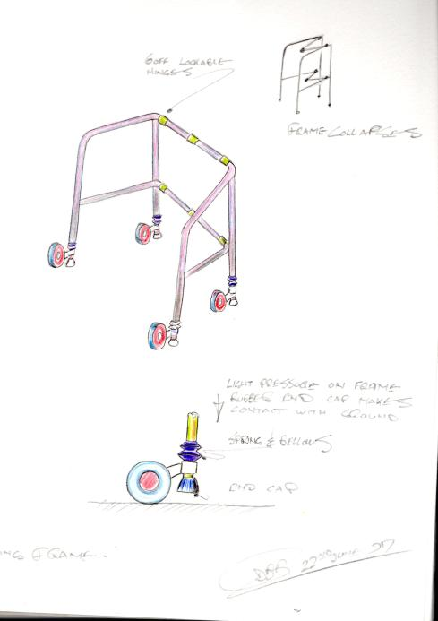 Douglas walking frame