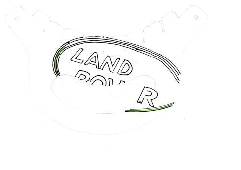 Vizor landrover logo